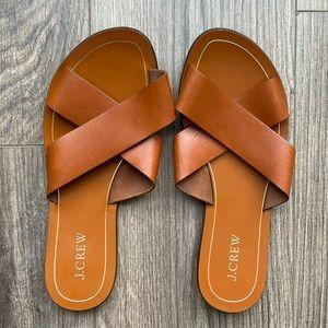 J. CREW Cyprus Crossover Sandals